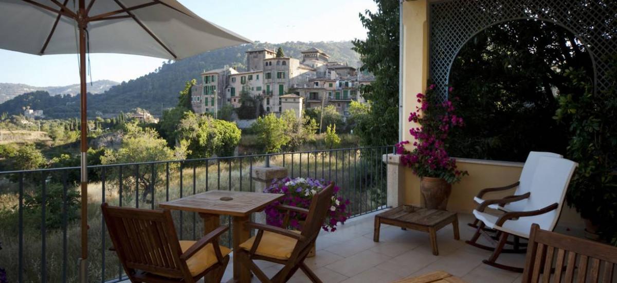 Hoteles en Valldemossa con encanto romántico rural piscina