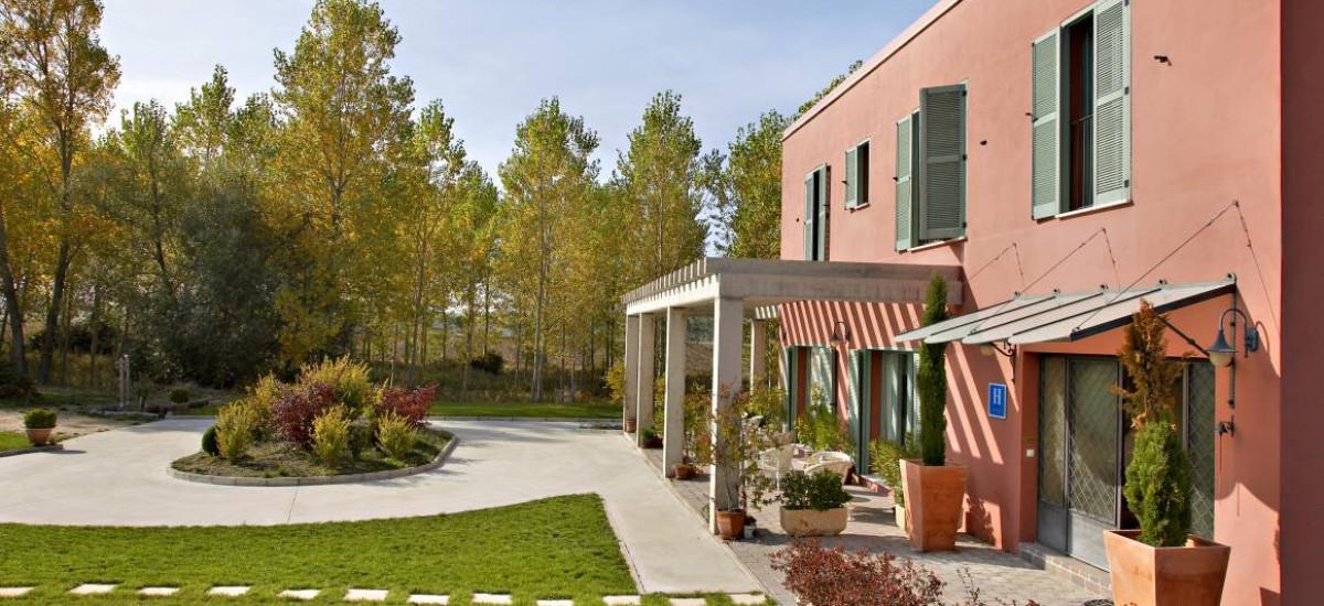 Hoteles en Olmillos de Sasamon Santa Coloma del Camino Jardin