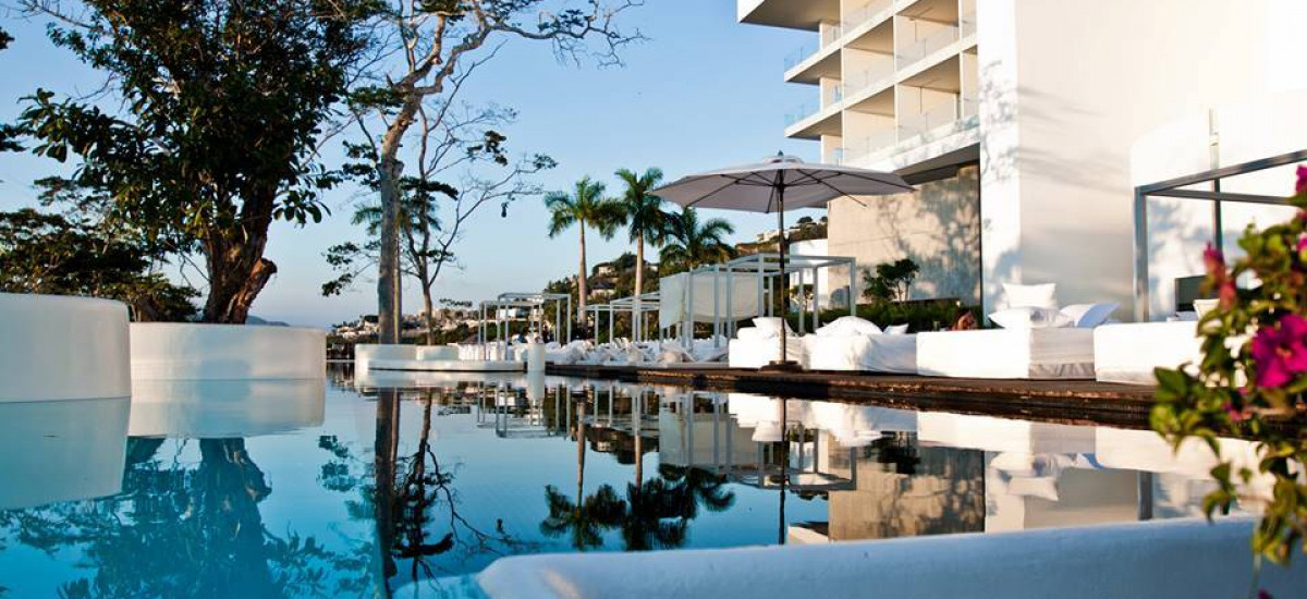 Hoteles en Acapulco Hotel Encanto piscina