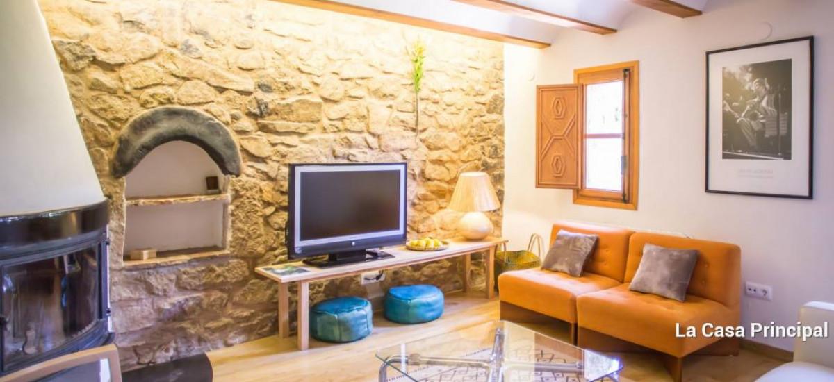 Boutique Hotels Rural Homes in Olba, Teruel Moyas Livingroom