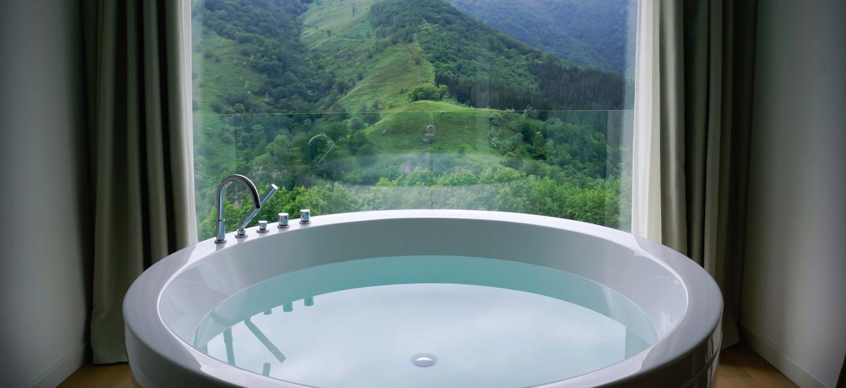 Hotels near San Sebastian  Luxury Rural Donostia Arantza Jacuzzi