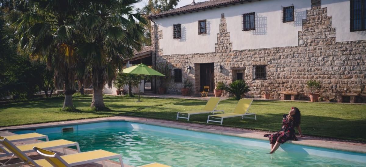 Full Rental House in Jaen Spain Pool Rusticae