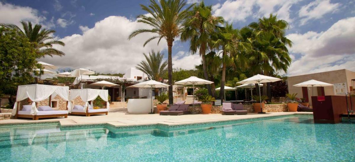 Hoteles en San Rafael rurales con encanto Piscina Can LLuc
