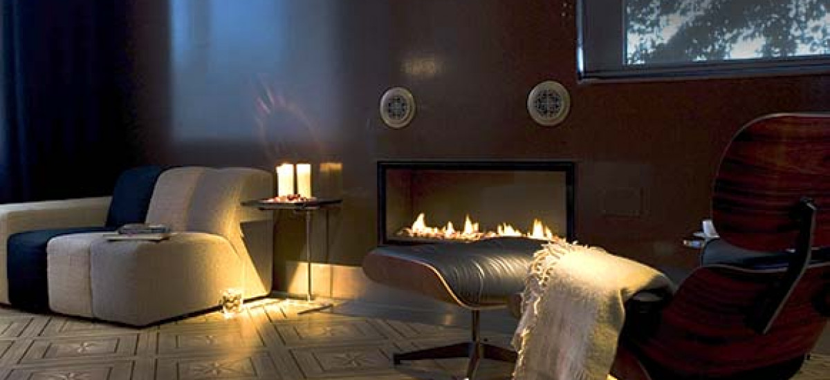 Full Rental Houses and apartments with fireplace