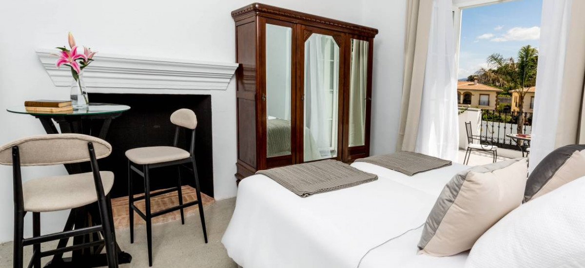 Hoteles en Pinos del Valle Finca Casabela Habitación