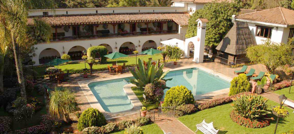 Hoteles en Ururapán - Cupatitzio Hotel Piscina - Rusticae