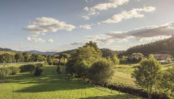 Hoteles en Mungia rurales con Encanto Rusticae