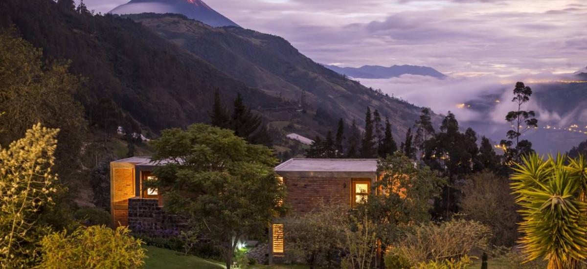 baños hoteles con encanto ecuador