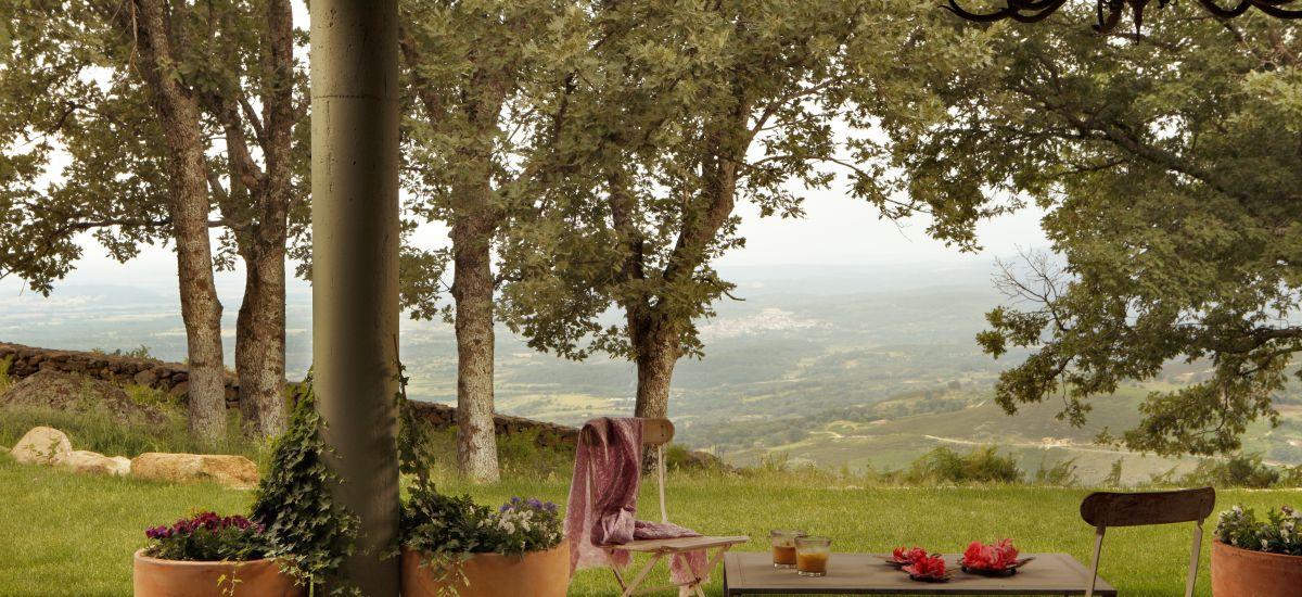 Hoteles Casas Rurales en Candeleda con encanto romántico Jardin