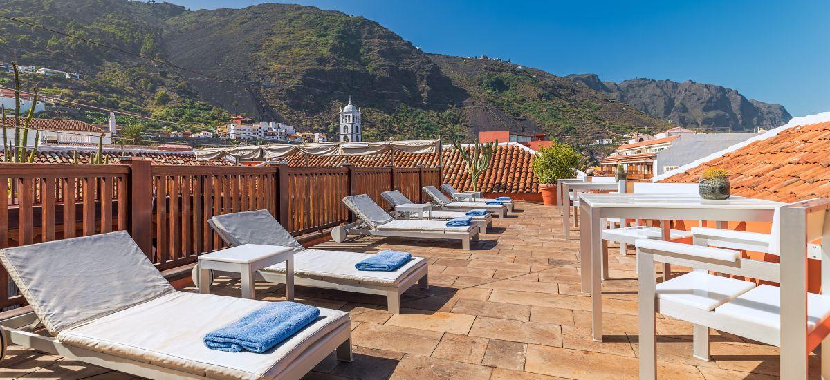 Boutique Hotels in Cañadas del Teide San Roque pool