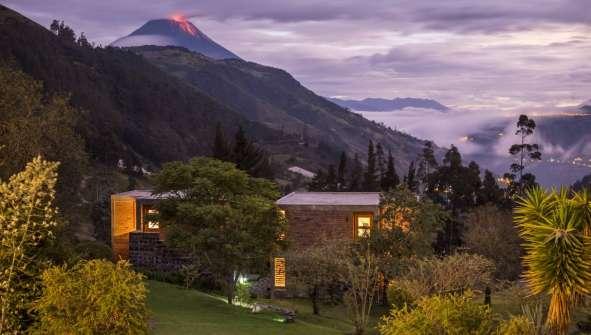 tungurahua hoteles con encanto ecuador