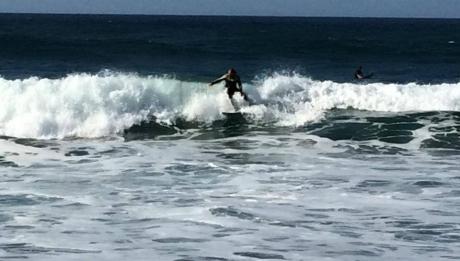 Surf en las playas cercanas a Puerto de Vega