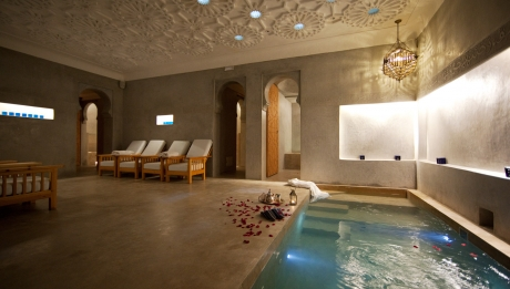 Hammam hotel Rusticae Dar Justo en Marrakech
