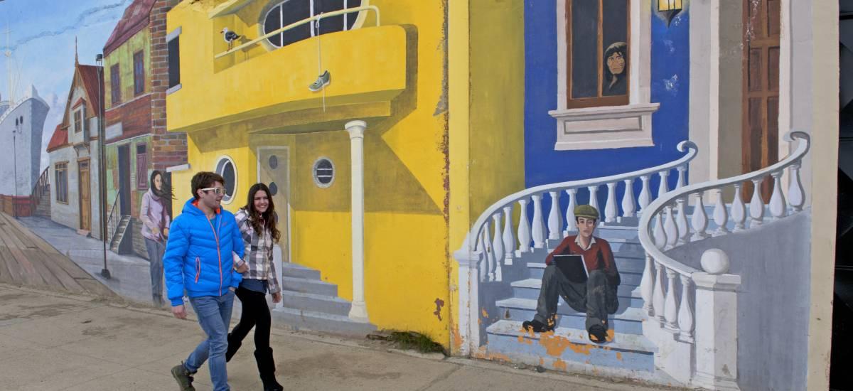 Experiencia Estrecho de Magallanes calle