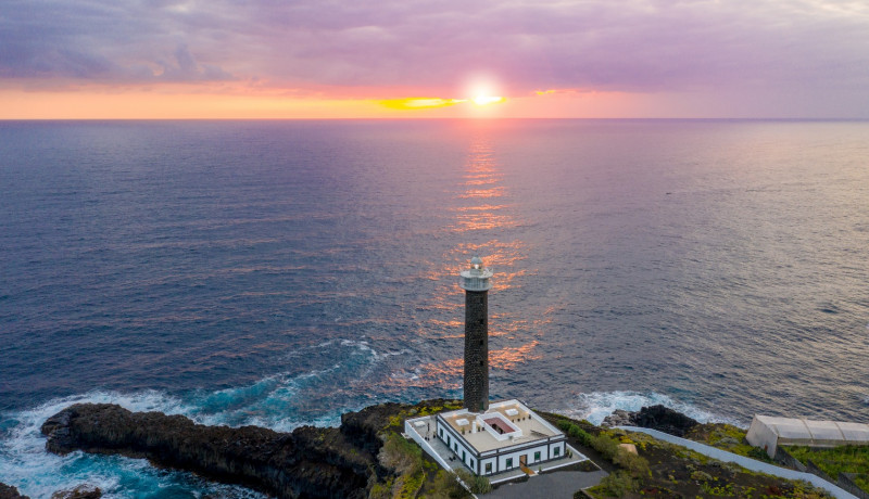 Experience Sleeping in a Lighthouse in Isla Bonita Spain