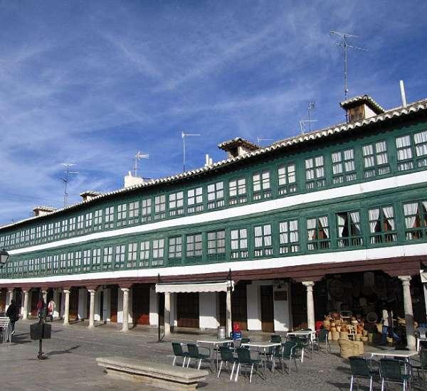 Rusticae Hotel Ciudad Real con encanto Zona común