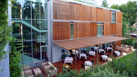 Rusticae Barcelona Hotel con encanto Terraza Restaurante