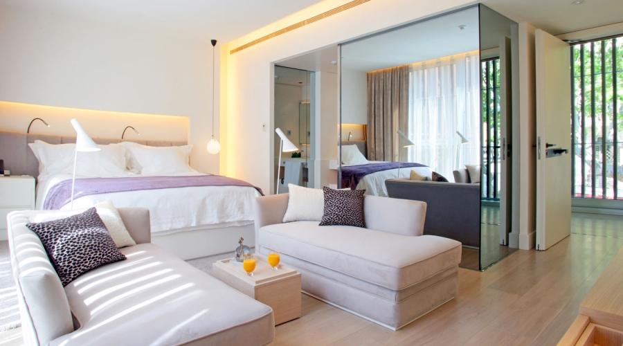Rusticae Barcelona Hotel con encanto Terraza Habitación