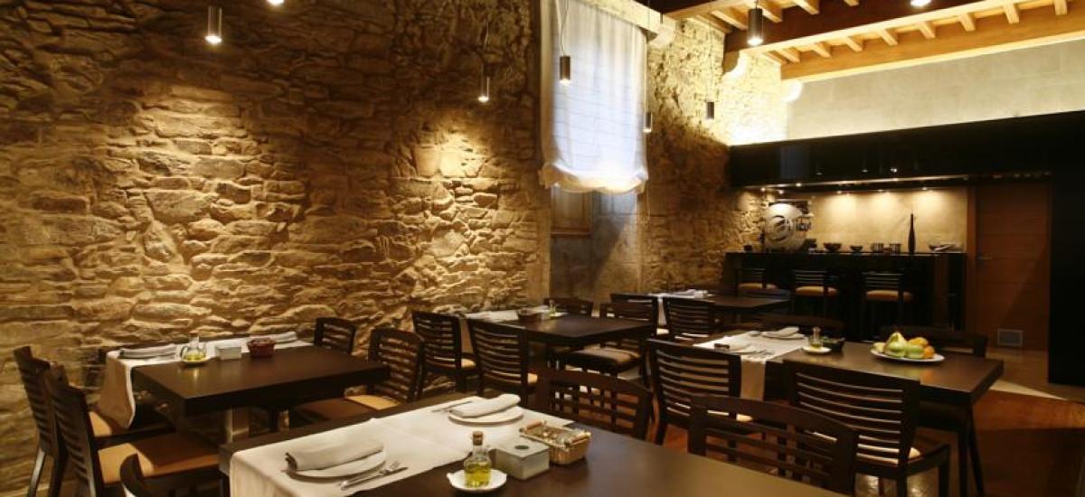 Santiago Altair hotel rusticae charming dining room