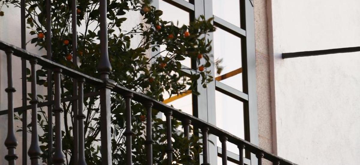 Santiago Altair hotel rusticae charming terrace