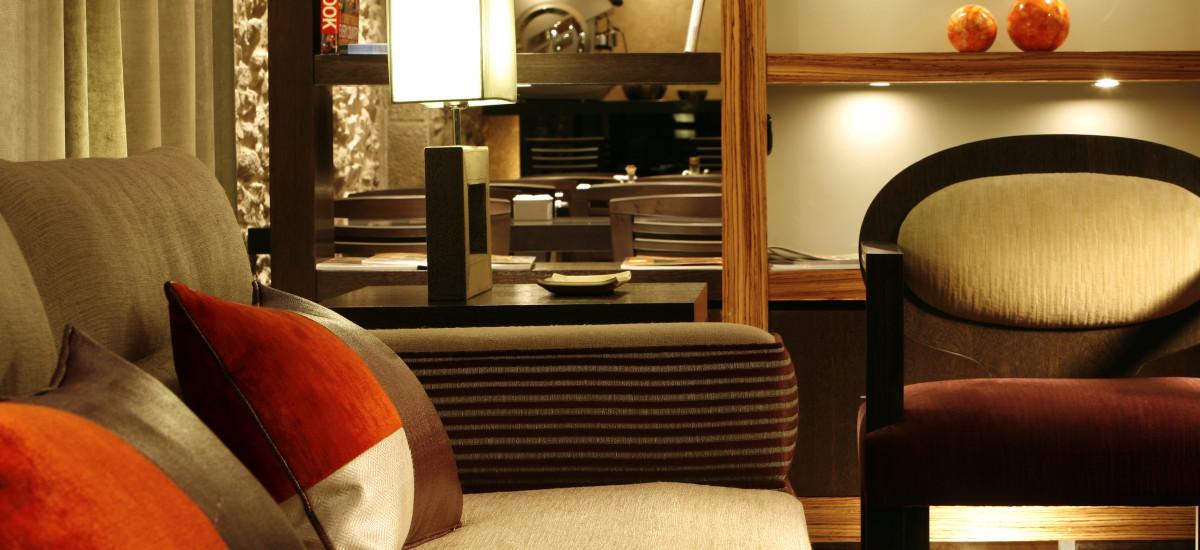Santiago Altair hotel rusticae charming living room