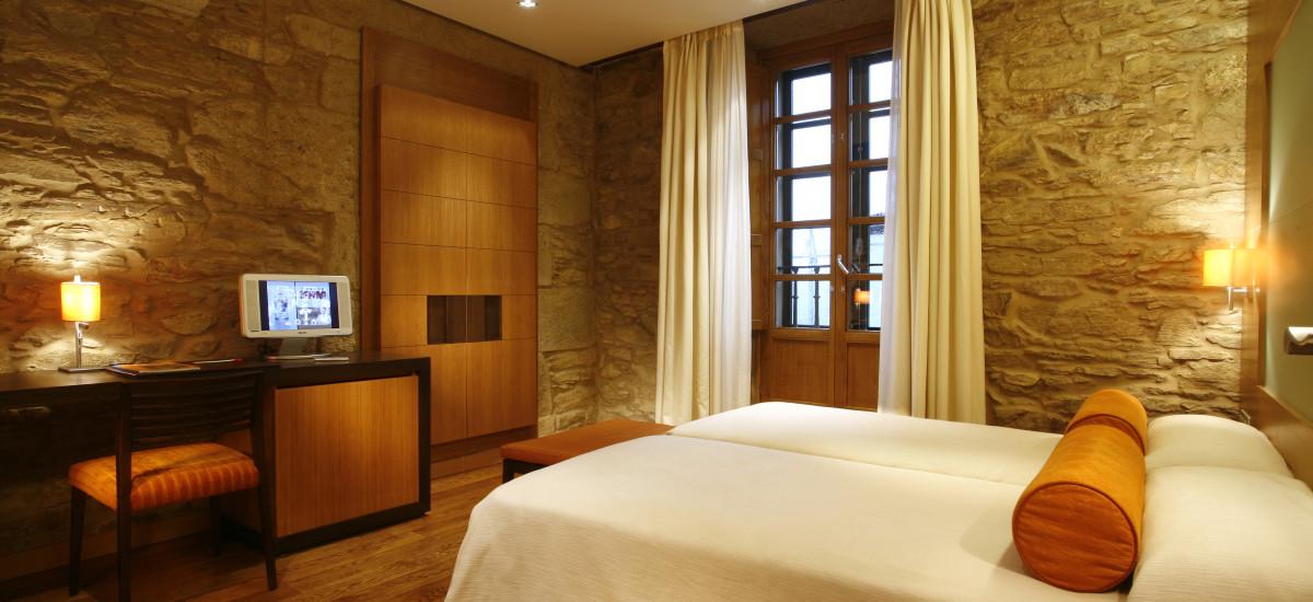 Santiago Altair hotel rusticae charming bedroom