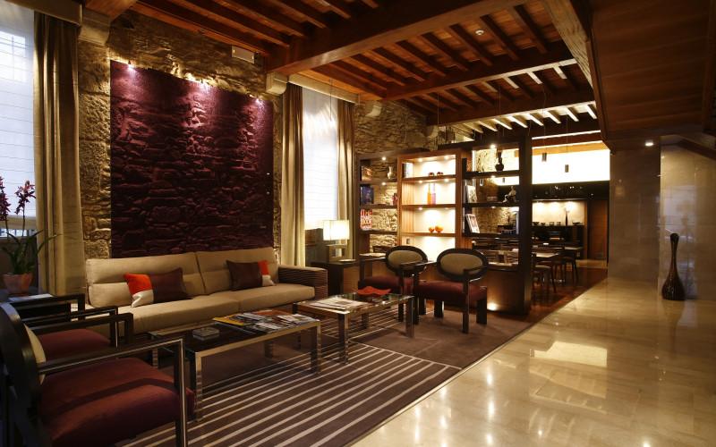 Santiago Altair hotel rusticae charming living room Altaïr Hote