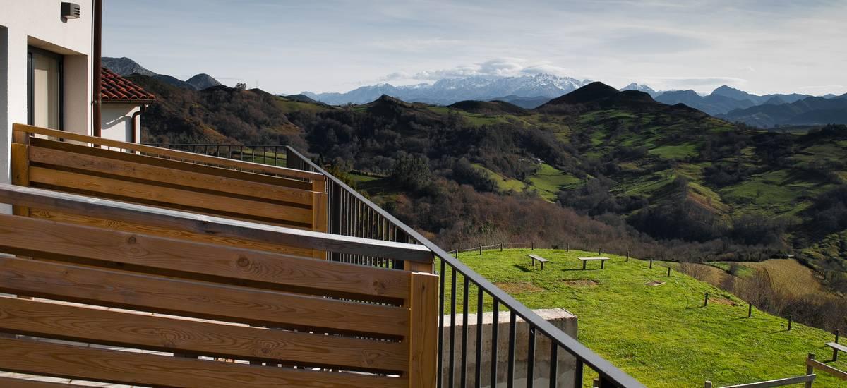 Asturias Amada Carlota Hotel rusticae con encanto terraza