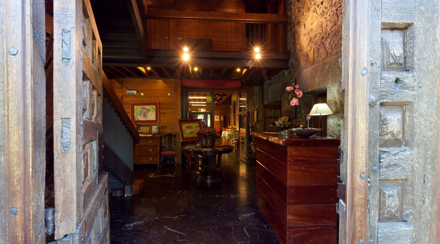 Rusticae Vizcaya Antsotegi Hotela rural Recepción