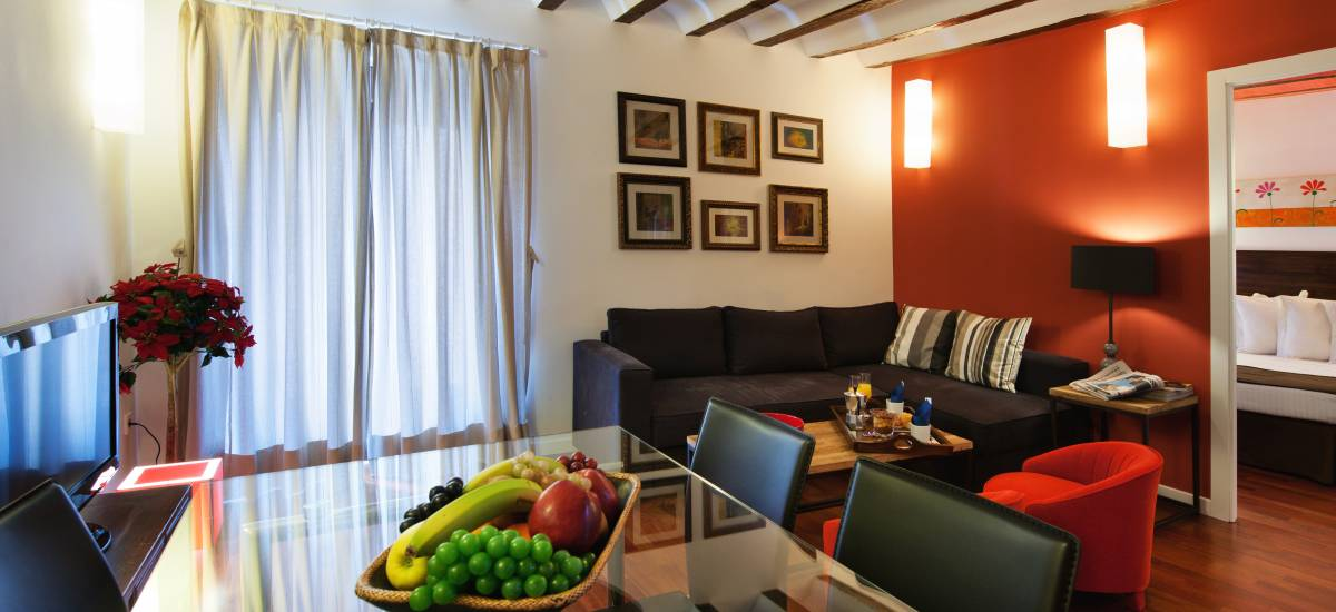 Apartamentos Abad Toledo Rusticae salon 3