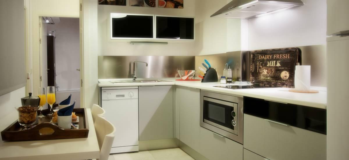 Apartamentos Abad Toledo Rusticae kitchen