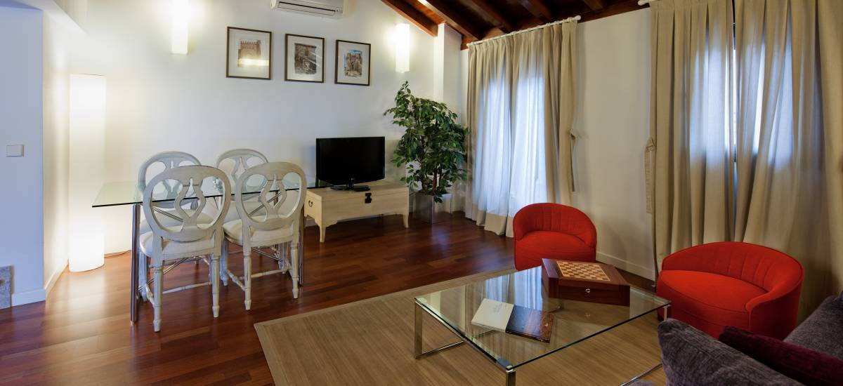 Apartamentos Abad Toledo Rusticae salon