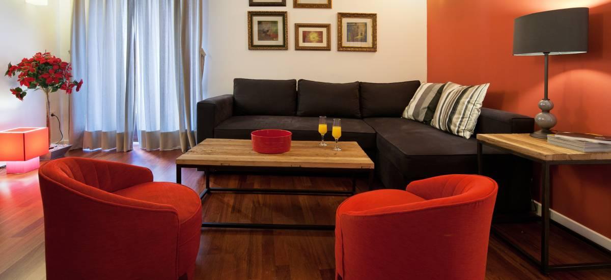 Apartamentos Abad Toledo Rusticae salones