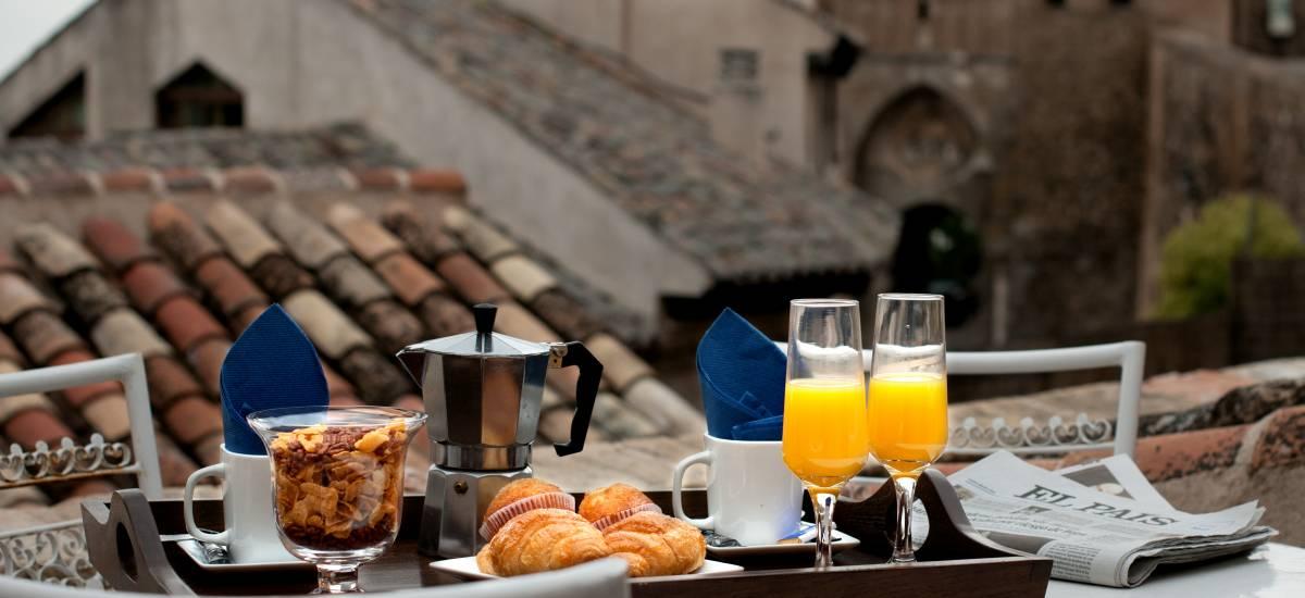 Apartamentos Abad Toledo Rusticae breakfast