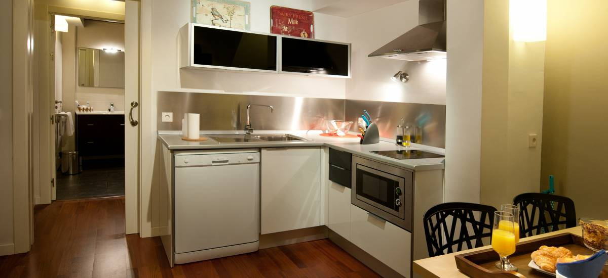 Apartamentos Abad Toledo Rusticae cocina