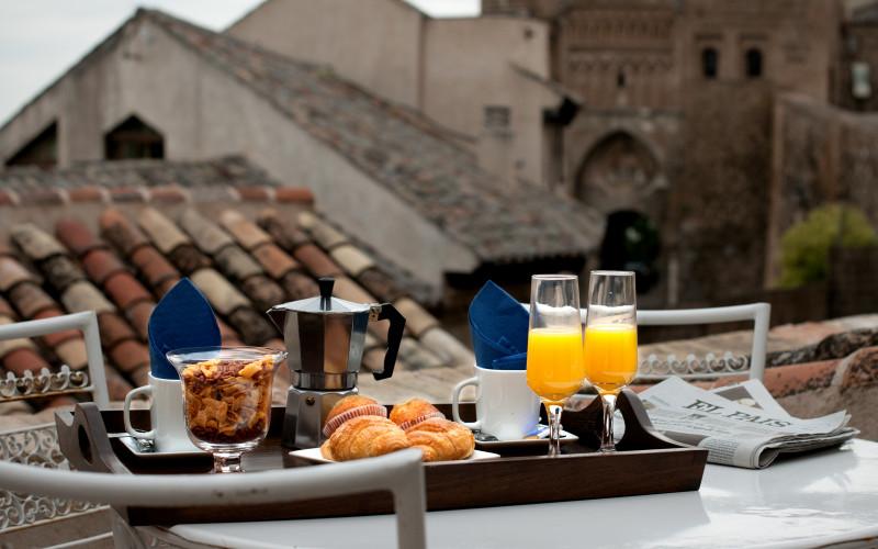 Apartamentos Abad Toledo Rusticae desayuno