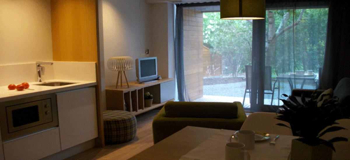 Charming apartment Casona de la Paca Hotel kitchen Asturias