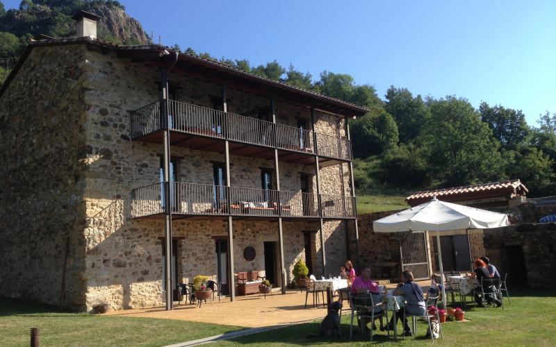 La Casassa de Ribes en Ribas de Freser Girona Jardin Hotel