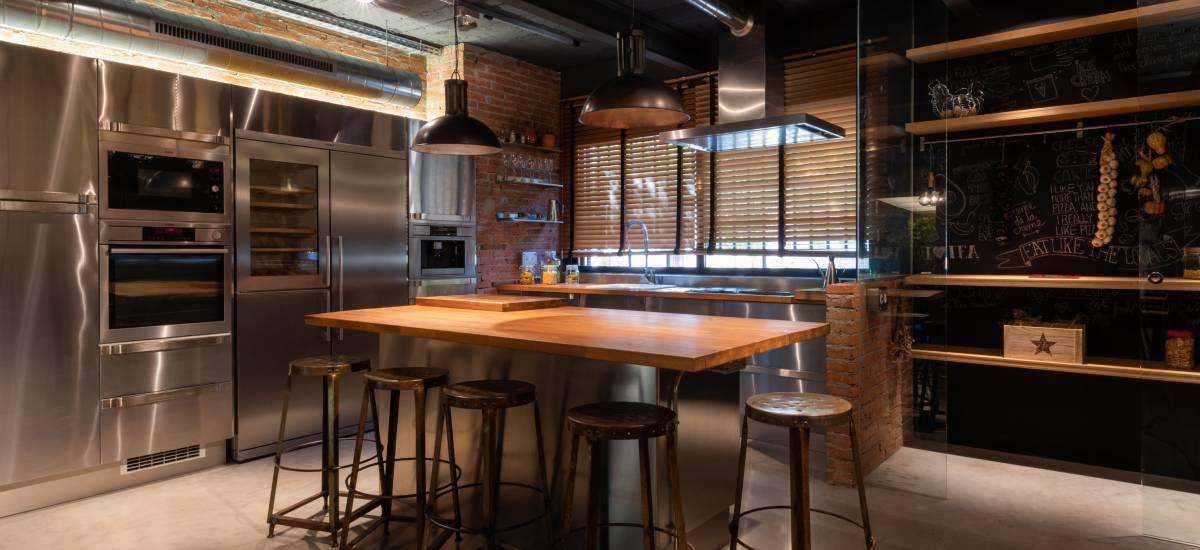 Petit Luxe Apartamentos Terrassa Loft Rusticae Dinningroom