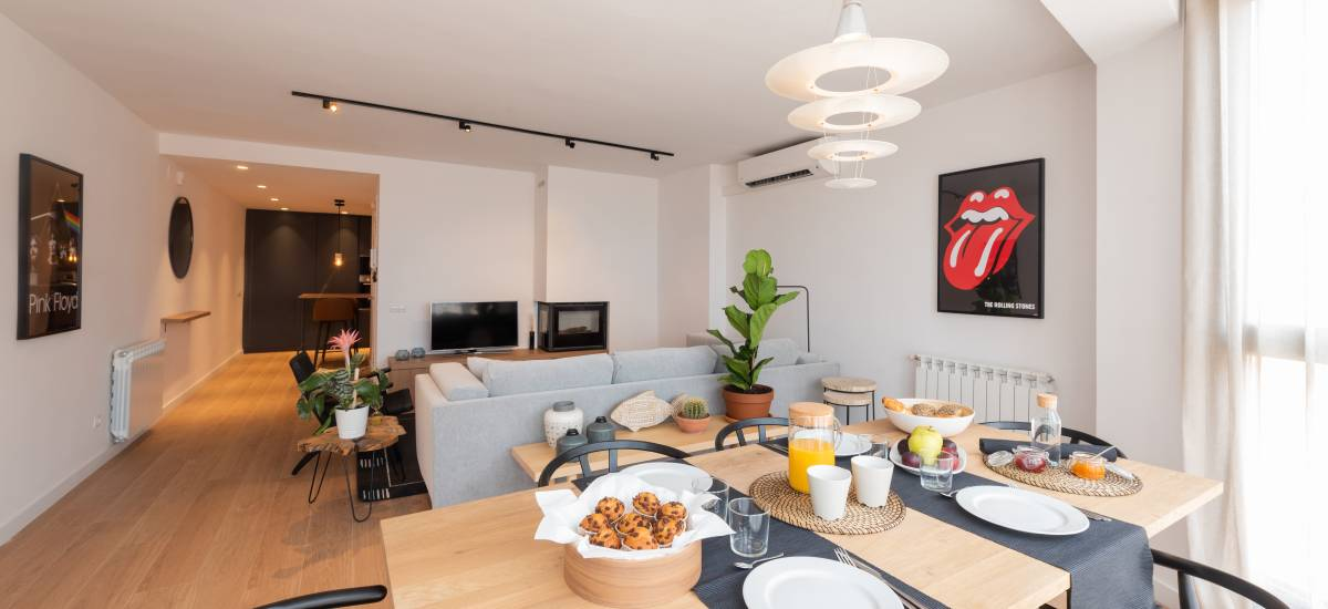 Petit Luxe Apartamentos Terrassa Duplex Rusticae Breakfast