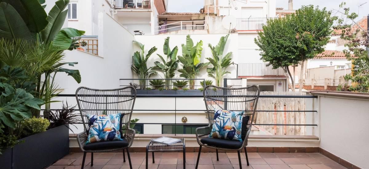 Petit Luxe Apartamentos Terrassa Duplex Rusticae Terrace