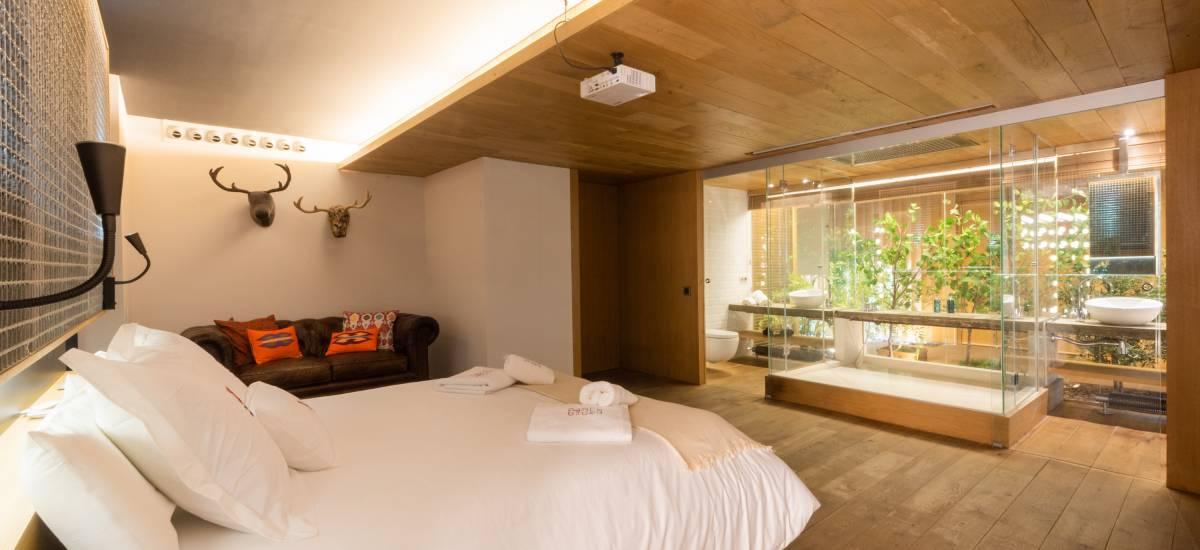 Petite Luxe Apartaments Terrasa Rusticae Bed