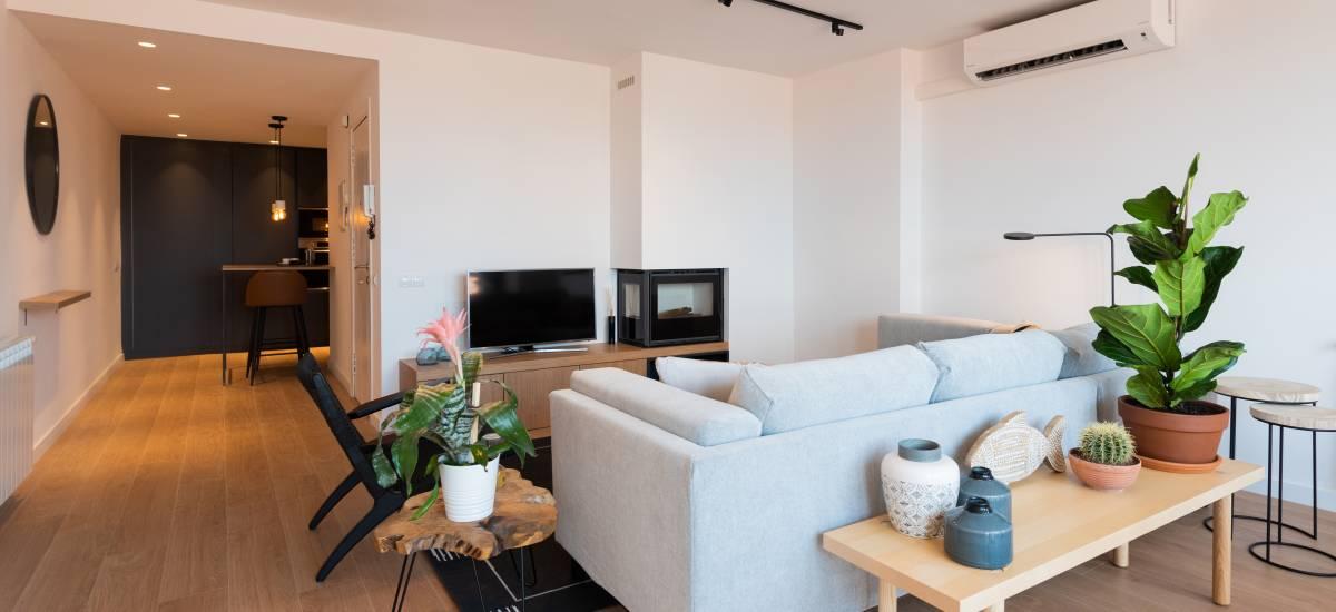 Petit Luxe Apartamentos Terrassa Duplex Rusticae Sofa
