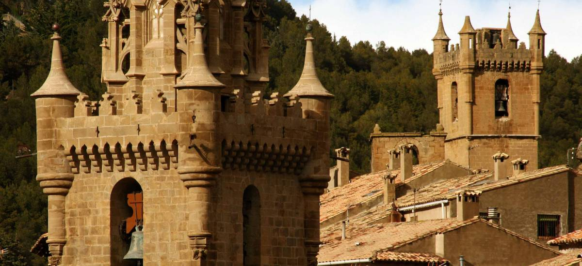 Rusticae Zaragoza Apartaments Uncastillo rural sourroundings