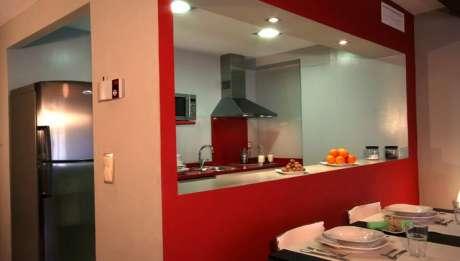 Rusticae Zaragoza Apartamentos Uncastillo en familia Cocina