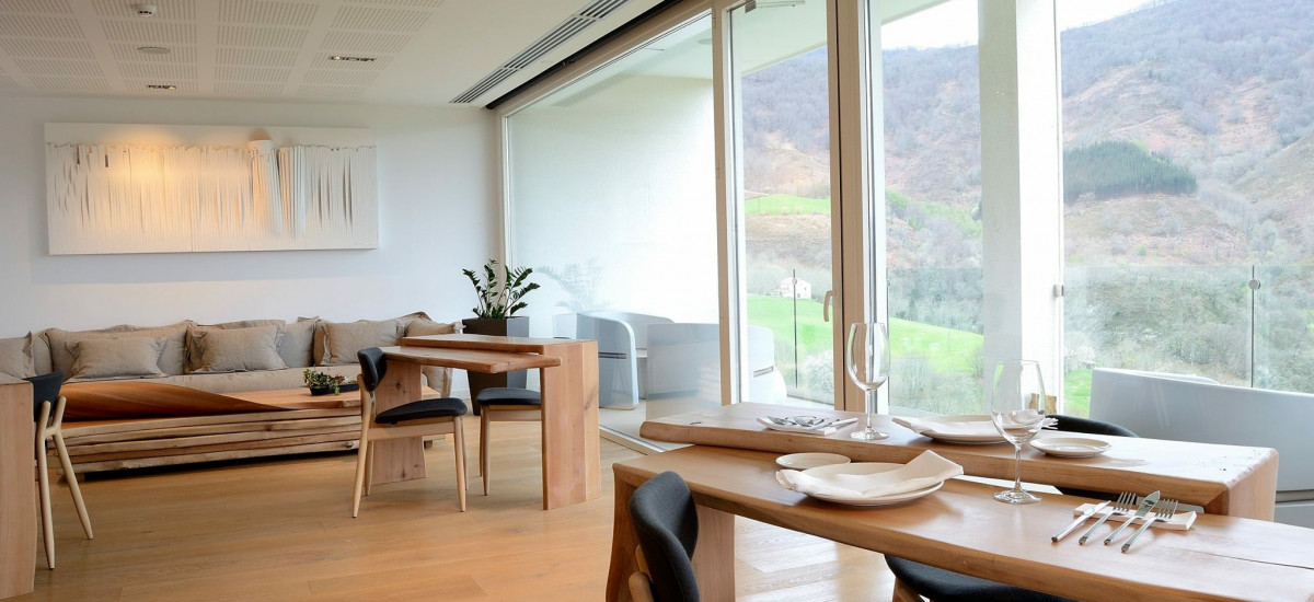 Casa de Alquiler Completo Arantza en Navarra Salon