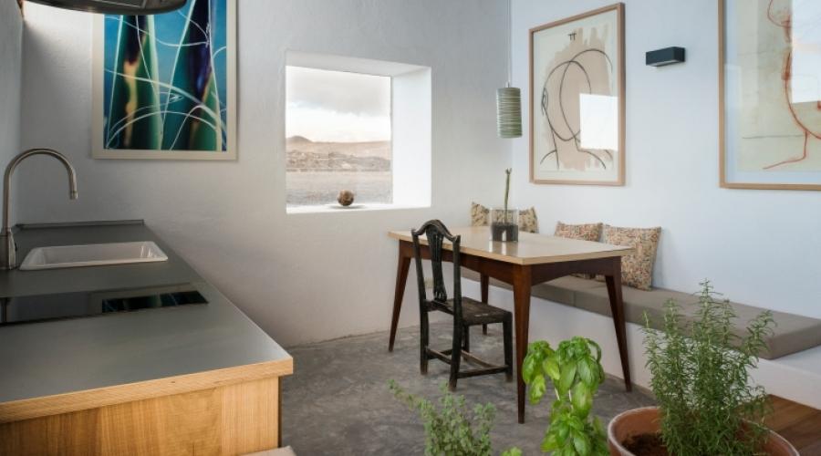 Rusticae Lanzarote Hotel con encanto cocina