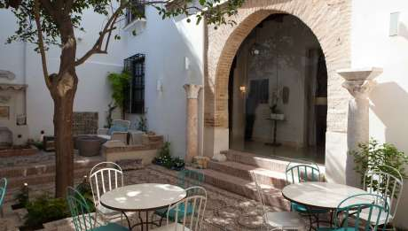 Rusticae Hotel Córdoba con encanto Terraza