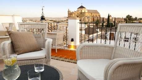 Rusticae Hotel balcon de Córdoba charming terrace