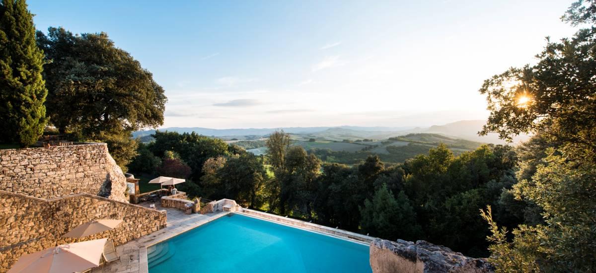 Rusticae Italia Toscana Hotel Borgo Pignano con encanto piscina